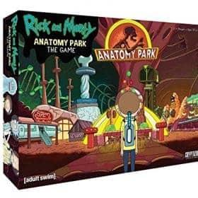 Настолна Игра Rick and Morty Anatomy Park