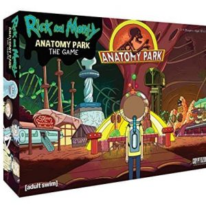 Настолна Игра Rick and Morty Anatomy Park