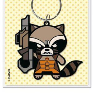 Marvel Comics Ключодържател Kawaii Rocket Raccoon 6 cm