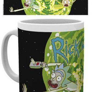 Чаша Rick and Morty Logo