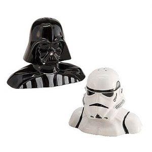 Комплект за Сол и Пипер Star Wars - Darth Vader and Stormtrooper