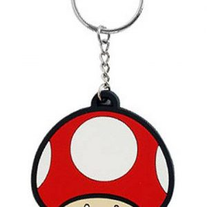Ключодържател Super Mario Bros. - Super Mushroom 6 cm