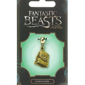 Fantastic Beasts Висулка Suitcase (antique brass plated)