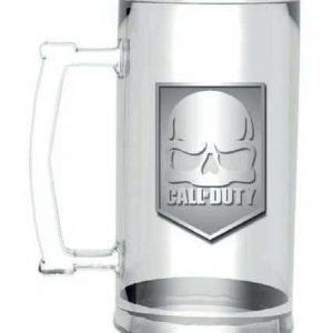 Халба с Метално Лого Call of Duty - Skull