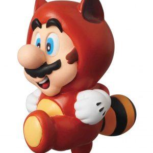 Колекционерска Фигурка - Nintendo UDF Series 1 - Tanuki Mario - 6 cm