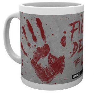 Чаша Walking Dead Hand Prints