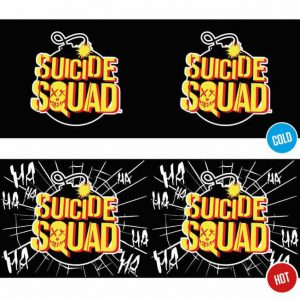 Реагираща на Топлина Чаша Suicide Squad - Bomb