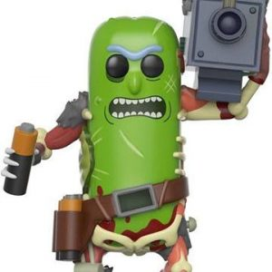 Funko POP! Фигурка - Rick and Morty - Pickle Rick with Laser 9 cm - POP! Animation
