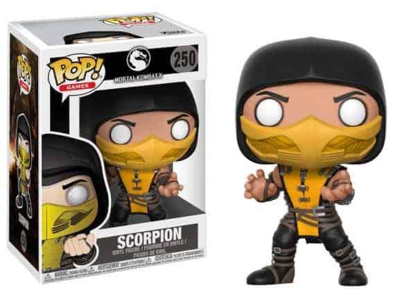 Funko POP! Фигурка - Mortal Kombat - Scorpion 9 cm - POP! Games