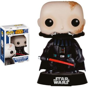 Funko POP! Фигурка – Star Wars - Unmasked Darth Vader 9 cm - POP! Star Wars