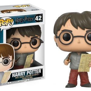 Funko POP! Фигурка Harry Potter - Harry Potter with Marauders Map 9 cm POP! Movies