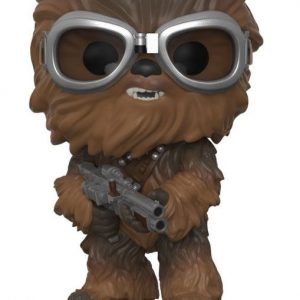 Funko POP! Фигурка Star Wars Solo - Bobble-Head - Chewbacca with Goggles 9 cm POP! Movies