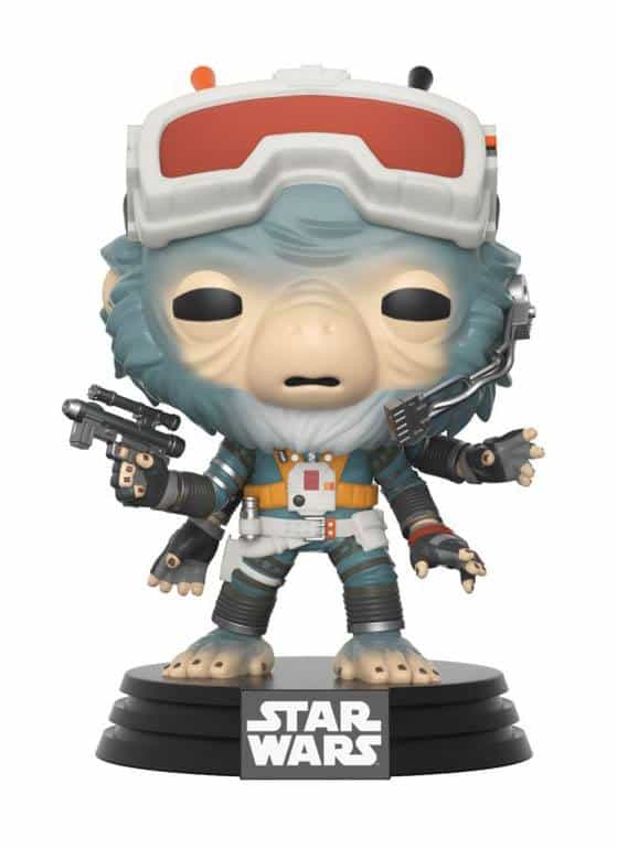 Funko POP! Фигурка Star Wars Solo - Bobble-Head - Rio Durant 9 cm POP! Movies
