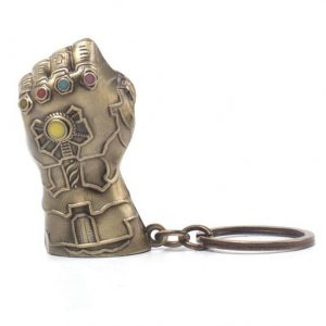 Avengers Infinity War Метален Ключодържател Thanos Fist 7 cm