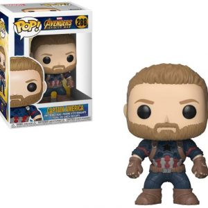 Funko POP! Фигурка – Avengers Infinity War - Captain America 9 cm POP! Movies Vinyl