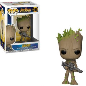 Funko POP! Фигурка Avengers Infinity War - Groot 9 cm POP! Movies