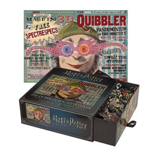 Harry Potter Хари Потър Пъзели The Quibbler Magazine Cover