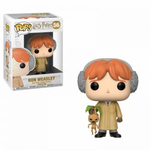 Funko POP! Фигурка – Harry Potter - Ron Weasley (Herbology) 9 cm POP! Movies