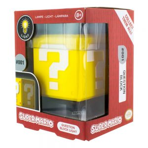 Super Mario 3D Лампа Question Block 10 cm