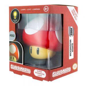Super Mario 3D Лампа Mushroom 10 cm