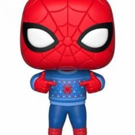 Коледна Funko POP! Фигурка - Spider-Man (Ugly Sweater) 9 cm Marvel Comics POP! Marvel Holiday
