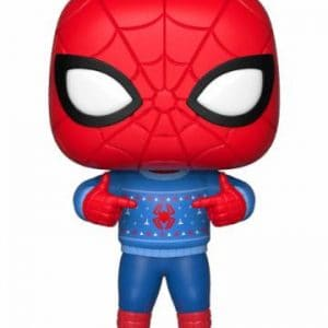 Коледна Funko POP! Фигурка - Spider-Man (Ugly Sweater) 9 cm Marvel Comics POP! Marvel Holiday