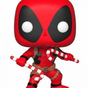 Коледна Funko POP! Фигурка - Deadpool (Candy Canes) 9 cm Marvel Comics POP! Marvel Holiday