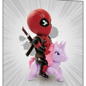 Колекционерска Фигурка - Marvel Comics Mini Egg Attack - Deadpool Pony 9 cm