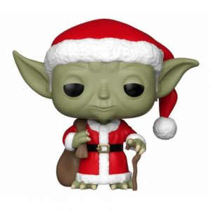 Коледна Funko POP! Фигурка - Holiday Santa Yoda 9 cm Star Wars POP! Vinyl