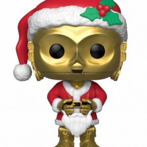 Коледна Funko POP! Фигурка - Holiday Santa C-3PO 9 cm Star Wars POP! Vinyl