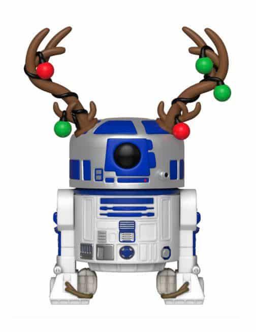 Коледна Funko POP! Фигурка - Holiday R2-D2 9 cm Star Wars POP! Vinyl