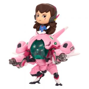 Blizzard Колекционерска Фигурка Overwatch - D.Va and Meka 13 cm Cute but Deadly