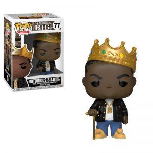 Funko POP! Фигурка Notorious B.I.G. with Crown 9 cm POP! Rocks