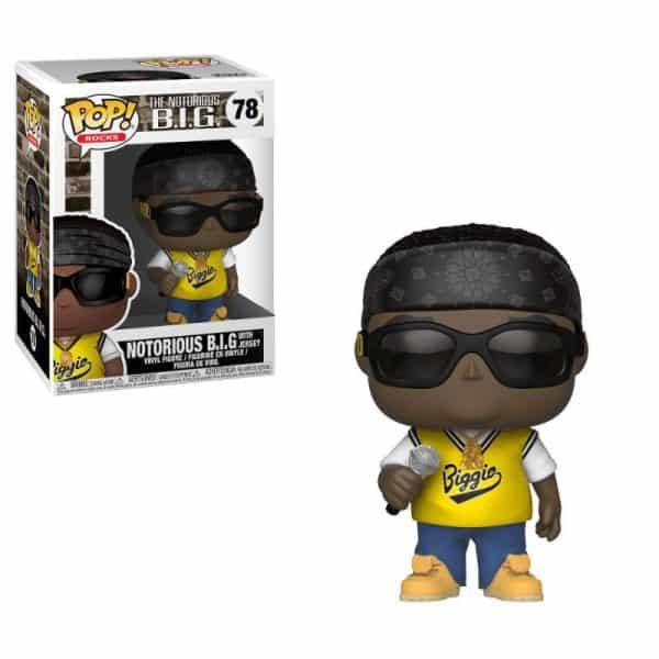 Funko POP! Фигурка Notorious B.I.G. (Jersey) 9 cm POP! Rocks