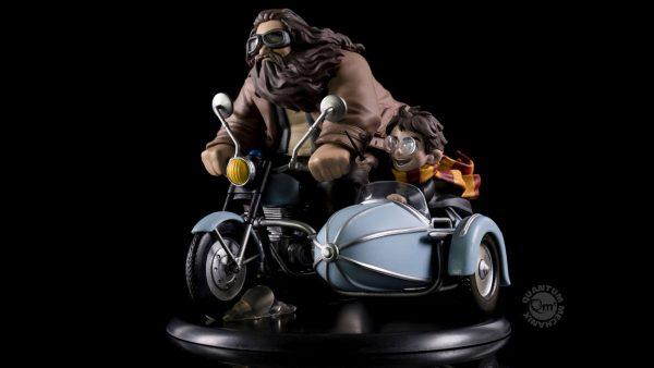Лимитирана Серия Колекционерска Фигурка Harry Potter Q-Fig MAX Diorama Harry Potter and Rubeus Hagrid 15 cm