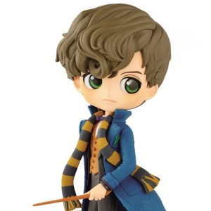 Колекционерска Фигурка Q Posket Fantastic Beasts 2 - Newt Scamander A Normal Color Version 15 cm Banpresto