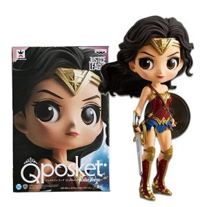 Колекционерска Фигурка Q Posket Justice League - Wonder Woman A Normal Color Version 14 cm Banpresto