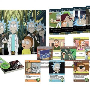 Rick and Morty Deck-Building Настолна Игра Close Rick-Counters of the Rick Kind