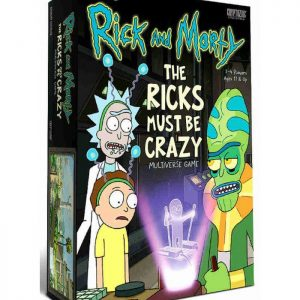 Настолна Игра Rick and Morty Multiverse The Ricks Must Be Crazy