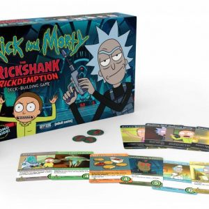 Rick and Morty Deck-Building Настолна Игра Close The Rickshank Rickdemption