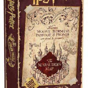 Harry Potter Хари Потър Пъзел - Marauder's Map