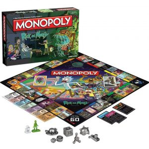 Настолна Игра Rick and Morty Monopoly