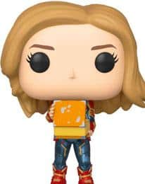 Funko POP! Фигурка Captain Marvel - Captain Marvel w/Lunch Box 9 cm POP! Marvel