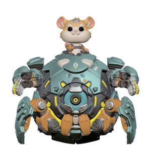 Голяма Funko POP! Фигурка Overwatch - Wrecking Ball 15 cm Oversized POP! Games