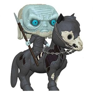 Голяма Funko POP! Фигурка Game of Thrones - White Walker on Horse 15 cm POP! Rides