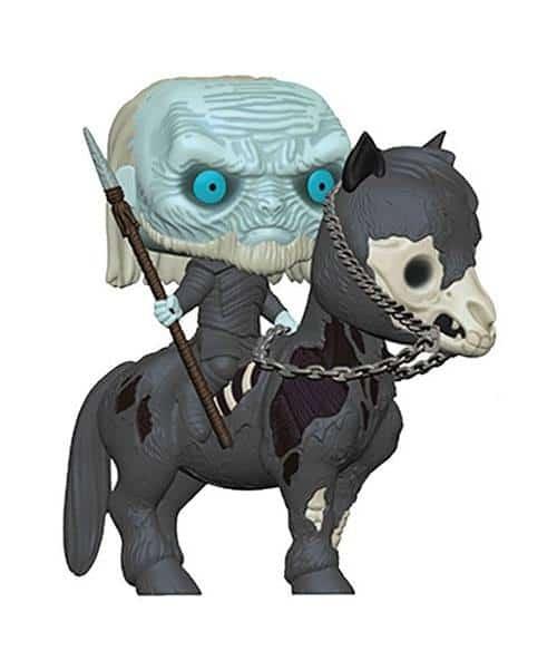 Голяма Funko POP! Фигурка Game of Thrones - White Walker on Horse 15 cm POP! Rides