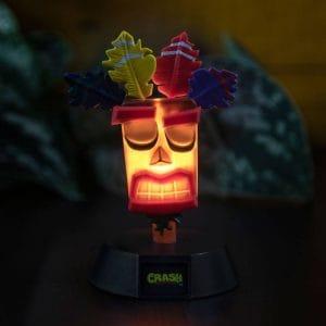 Crash Bandicoot 3D Лампа Aku Aku 10 cm
