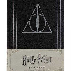 Тефтер Harry Potter Хари Потър Ruled Notebook The Deathly Hallows