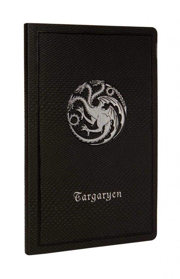 Тефтер Game of Thrones Ruled Notebook Targaryen