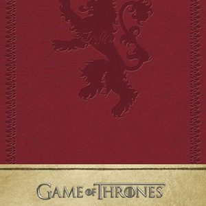 Тефтер Game of Thrones с Твърди Корици Ruled Journal House Lannister